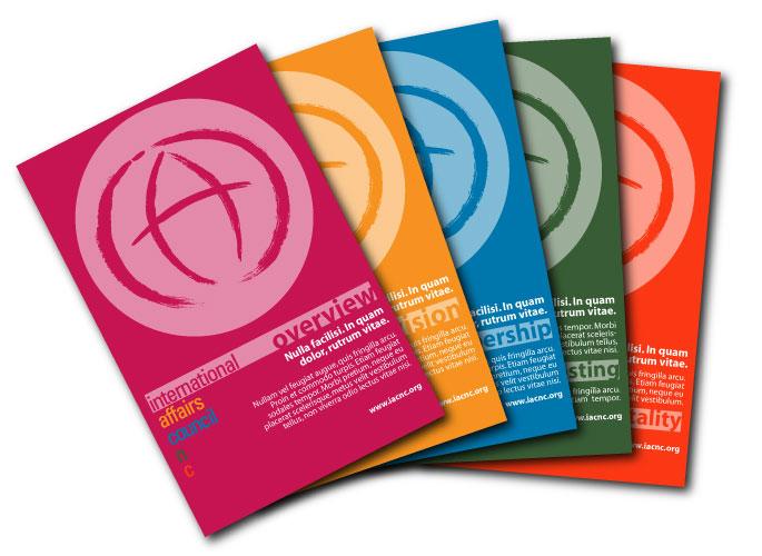 International Affairs Council Print Design